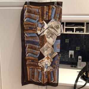 Carlisle silk scarf